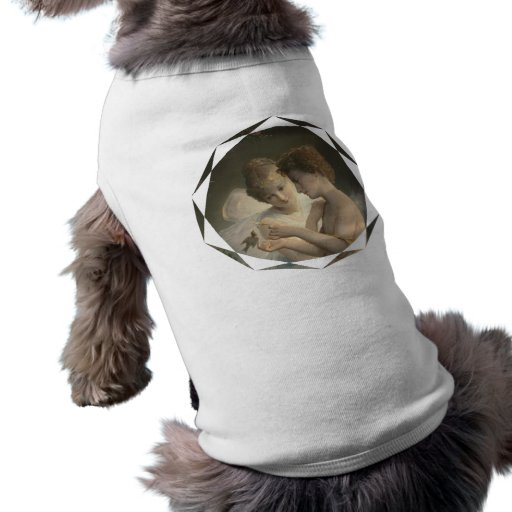 Alegría del amor de la paz del Cupid y de la psiqu Camiseta De Perro