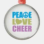 Alegría del amor de la paz ornamente de reyes
