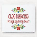 Alegría del baile de estorbo tapete de ratón