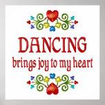 Alegría del baile poster
