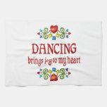 Alegría del baile toallas de cocina