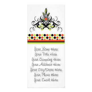 Alegría del día de fiesta diseño de tarjeta publicitaria