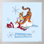 Alegría del invierno de Tigger Impresiones