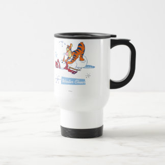 Alegría del invierno de Tigger Tazas De Café
