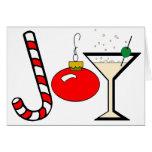 Alegría del navidad felicitación