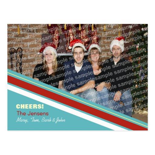 Alegría del navidad postales
