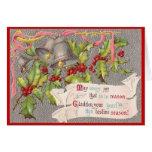 Alegría del navidad tarjetas