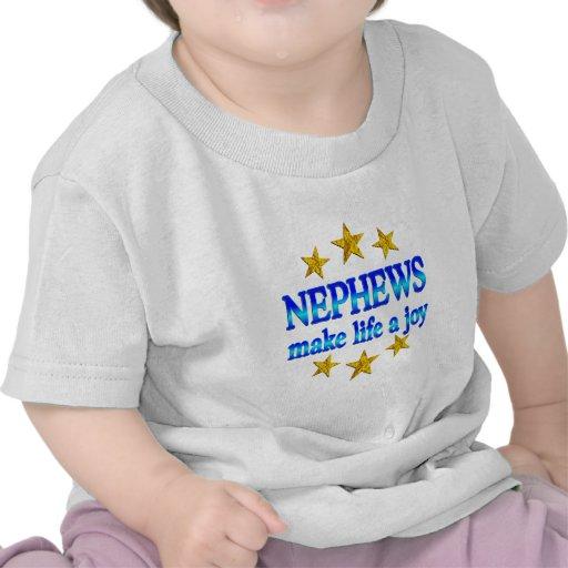 Alegría del sobrino camiseta