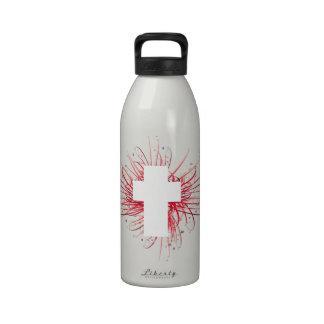 ¡ALEGRÍA en la cruz Botella De Agua Reutilizable