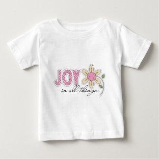 Alegría en todas las cosas polera