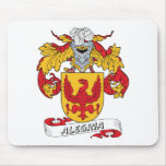 Alegria Family Crest Mouse Pads