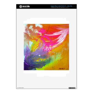 ALEGRÍA lanzada iPad 3 Pegatina Skin
