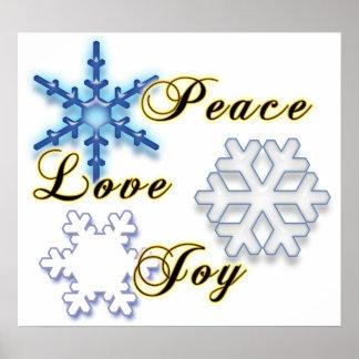 Alegría No-Confesional del amor de la paz Poster
