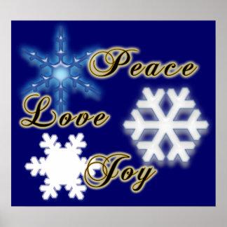Alegría No-Confesional del amor de la paz Impresiones