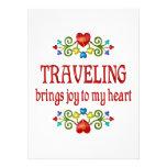 Alegría que viaja anuncio personalizado
