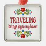 Alegría que viaja ornatos