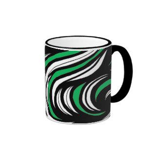 Alegría racional fiel imaginativa taza de dos colores