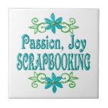 Alegría Scrapbooking de la pasión Azulejos