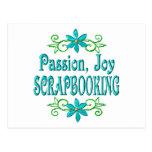 Alegría Scrapbooking de la pasión Postales