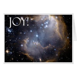¡Alegría!  Tarjeta de felicitación celestial