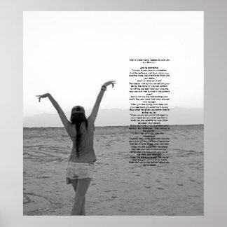 Alegría y dolor de Kahlil Gibran Poster