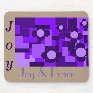 Alegría y paz Mousepad