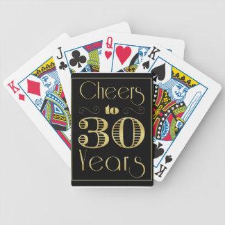 Alegrías a 30 años baraja de cartas