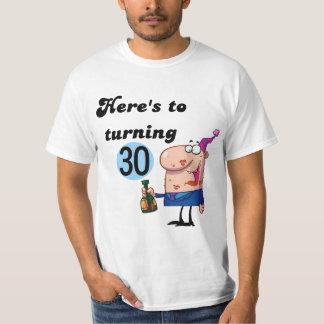Alegrías a 30 camisetas y regalos del cumpleaños