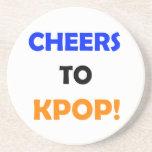 ¡Alegrías a KPOP! Práctico de costa Posavasos Manualidades
