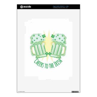 Alegrías al irlandés calcomanías para iPad 2