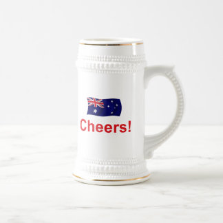 ¡Alegrías de Australia! Jarra De Cerveza