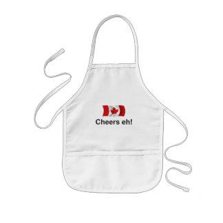 ¡Alegrías de Canadá, eh! Delantal Infantil