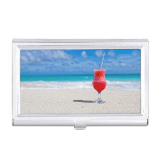 Alegrías de la playa cajas de tarjetas de negocios
