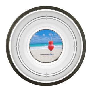 Alegrías de la playa cuenco acrílico