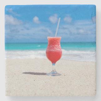 Alegrías de la playa posavasos de piedra