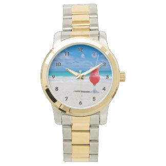 Alegrías de la playa reloj de mano