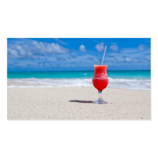 Alegrías de la playa tarjetas de visita