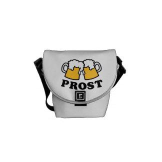 Alegrías de Prost de la taza de cerveza Bolsas Messenger