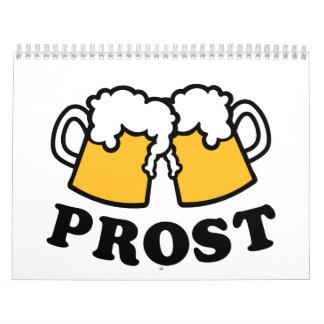 Alegrías de Prost de la taza de cerveza Calendarios