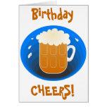 ¡Alegrías del cumpleaños! Felicitación