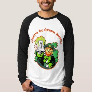alegrías para poner verde las cervezas camisas