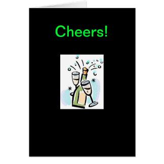 Alegrías - una celebración de la amistad tarjeta de felicitación