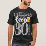Alegrías y cervezas a los 30 años la camiseta de