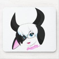 "Alejandra ""Cow""pad Mouse Pad"