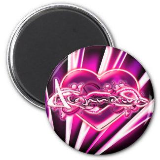 Alejandrina 2 Inch Round Magnet