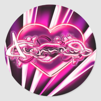 Alejandrina Classic Round Sticker