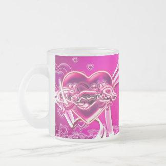 Alejandrina Frosted Glass Coffee Mug