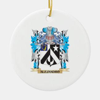Alejandro Coat Of Arms Christmas Tree Ornament