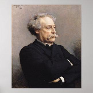 Alejandro Dumas Fils 1886 Poster