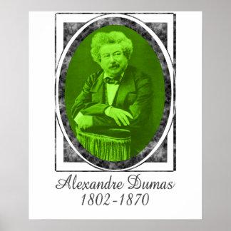 Alejandro Dumas Póster